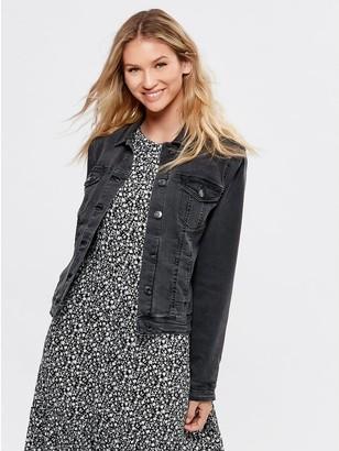 M&Co Black denim jacket