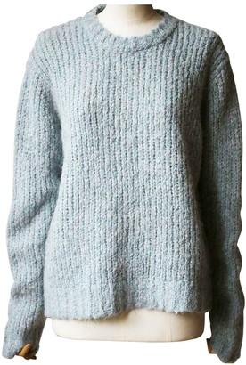 R 13 Blue Wool Knitwear
