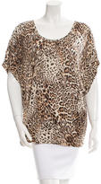 Torn By Ronny Kobo Printed Oversize Top