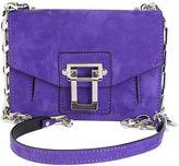 Proenza Schouler Purple Suede Hava Bag