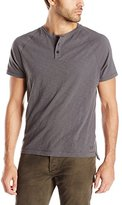 Kenneth Cole New York Men's Dressy Slub Henley Shirt
