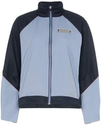 Ganni block-colour zipped jacket