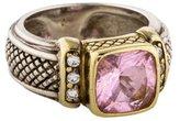Judith Ripka Diamond & Crystal Cocktail Ring