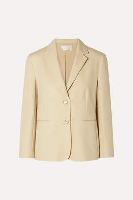 The Row Lobton Cotton-blend Blazer - Beige