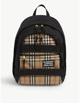 Burberry Cooper medium canvas rucksack