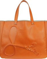 Charms Leather Tote