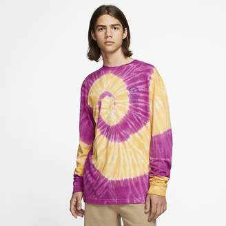 Nike Men's Long-Sleeve T-Shirt Hurley x Matsumoto Shave Ice Tie Dye