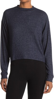 Z By Zella Ella Crew Neck Knit Sweater