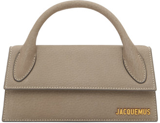 Jacquemus Grey Le Chiquito Long Clutch
