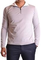 Armani Collezioni Men's Grey Cotton Sweatshirt.