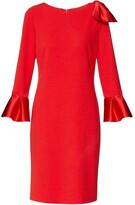 Thumbnail for your product : Gina Bacconi Uma Scuba Crepe Dress