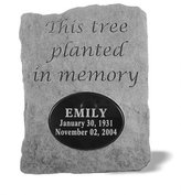 Kay Berry Inc Kay Berry 52121 This tree planted...Urn for local engraving