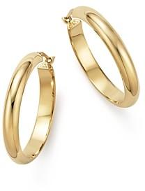Bloomingdale's 14K Yellow Gold Large Hoop Earrings - 100% Exclusive