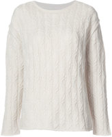 Nili Lotan cable knit sweater - women - Cashmere - S