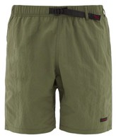 Gramicci Clip-belt Relaxed Shell Shorts - Mens - Khaki