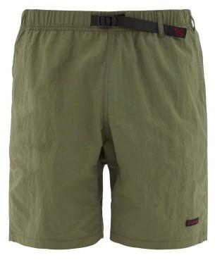 Gramicci Clip-belt Relaxed Shell Shorts - Mens - Khaki