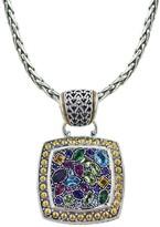 Effy Jewelry Effy 925 Multi Gemstone Pendant, 4.97 TCW