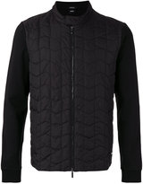 HUGO BOSS quilted bomber jacket - men - Cotton/Polyamide/Polyester - S