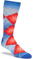 Daniel Cremieux Space Dye Argyle Crew Dress Socks