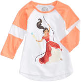 Disney Disney's Princess Elena of Avalor Raglan T-Shirt, Little Girls