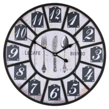 Orient Three Star Le Cafe Bistro Wall Clock