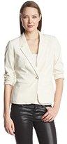 Kensie Women's Stretch Crepe Blazer