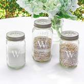 Cathy's Concepts Cathys concepts 3-piece Personalized Mason Jar Sand Ceremony Set