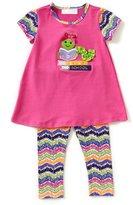 Bonnie Jean Bonnie Baby Baby Girls 12-24 Months Back to School Bookworm-Applique Dress & Print Leggings Set