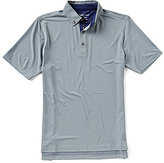 Bobby Jones Golf XH2O Essex Jacquard Short-Sleeve Polo Shirt