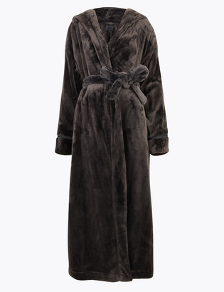 Marks and Spencer Fleece Long Dressing Gown