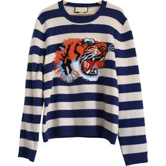 Gucci Navy Wool Knitwear & Sweatshirts