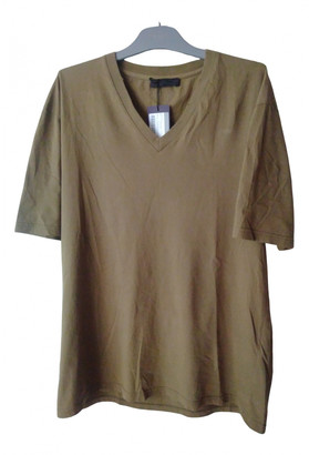 Prada Brown Cotton T-shirts