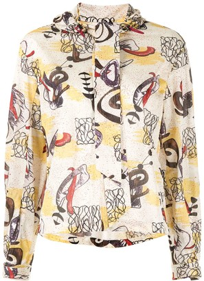 Toga Pulla Graphic Print Shirt