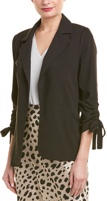 City Sleek Open Front Jacket