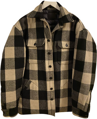 R 13 Black Wool Jackets