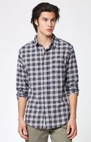 rhythm Brighton Plaid Flannel Long Sleeve Button Down Shirt