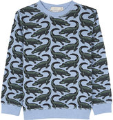Stella Mccartney Crocodile Cotton Jumper 4-14 Years