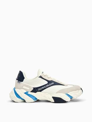 Calvin Klein Solaris Nappa Leather Suede Sneaker