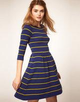 ASOS Striped Knit Dress