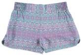 Forever 21 Girls Tribal Print Dolphin Shorts (Kids)