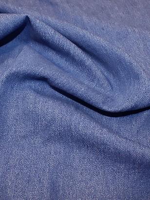 Oddies Textiles 8OZ Denim Fabric, Medium Blue