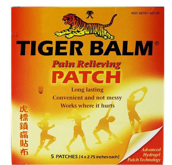 Tiger Balm Warm Patch 5 Pak by 5 Patches)
