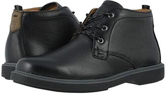 Florsheim Kids Supacush Chukka, Jr. (Toddler/Little Kid/Big Kid) (Black Milled) Boy's Shoes
