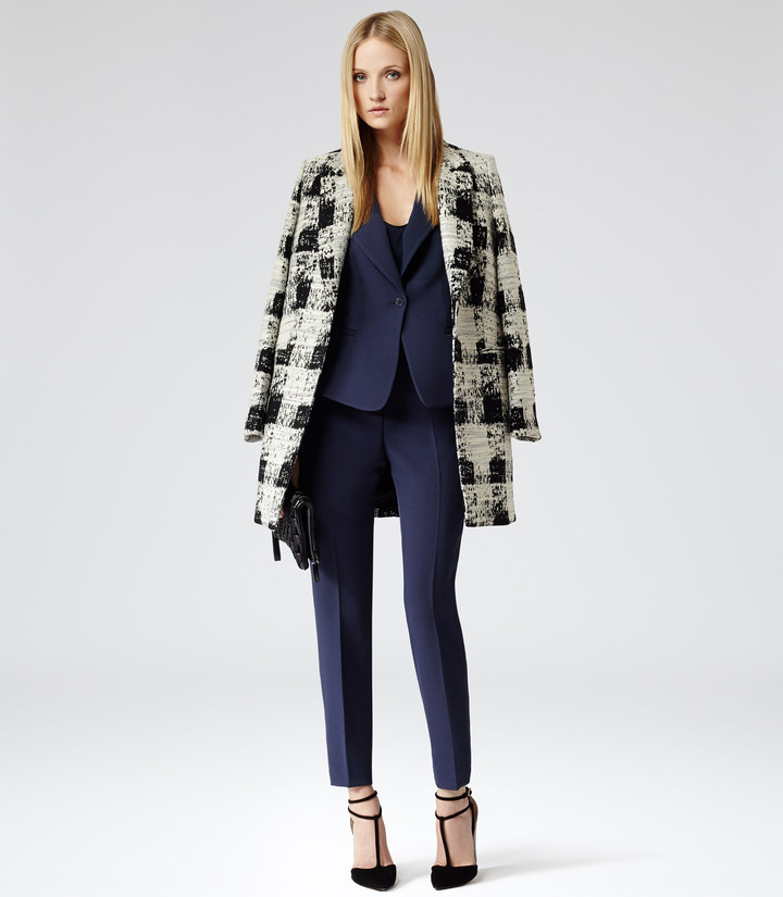 Reiss Soul Check STRAIGHT CUT COAT