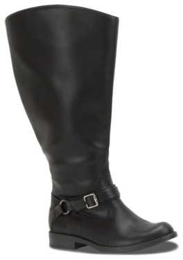 Easy Street Shoes Quinn Extra Wide Calf Riding Boot