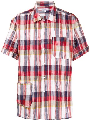 Engineered Garments Check Short-Sleeve Shirt