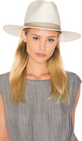 Janessa Leone Aster Tall Crown Panama Hat