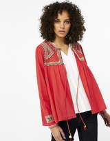Monsoon Scarlet Emb Jacket