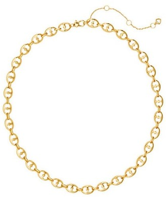 Kate Spade Goldplated Duo Heart Link Necklace