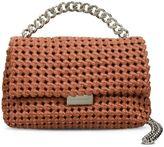 Stella McCartney brandy becks weaved small shoulder bag
